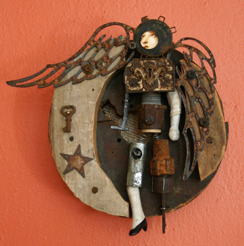 An assemblage by Anastasia Osolin