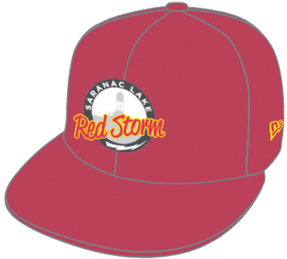 The Saranac Lake High School baseball hat design