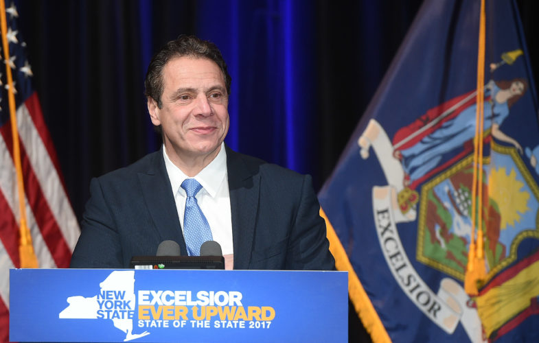 Gov. Andrew Cuomo. (Photo provided — Kevin P. Coughlin, governor's office)