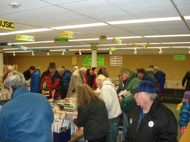 Books in every category, along with CDs, DVDs and  puzzles, will be sold at the 28th annual Winter Book Sale from Feb. 9 to 11. (Photo provided)