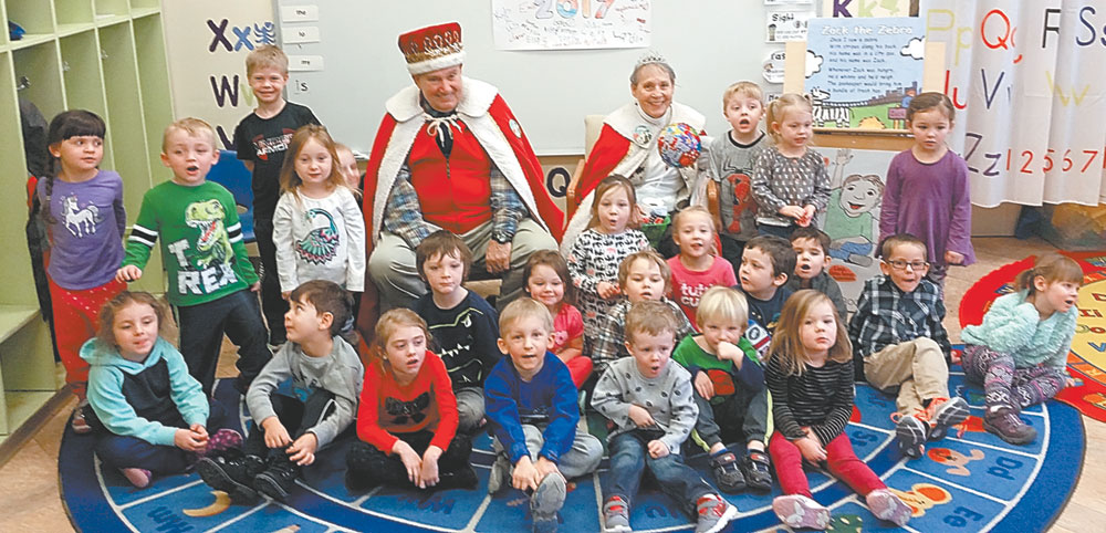 Kids get a visit from Carnival royalty | News, Sports, Jobs - Adirondack Daily Enterprise