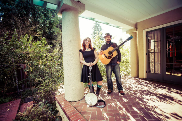 Canadian folk duo powerhouse The Small Glories will perform at 7:30 p.m. Saturday, March 18 at BluSeed Studios in Saranac Lake. Tickets are $18 for general admission or $15 for BluSeed members. (Photo provided —  Stefanie Atkinson)