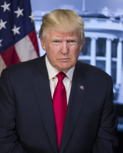 President Donald Trump (Official portrait)