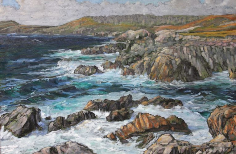 "Stephen Horne's ""Wild Cove, II"" (Image provided)"