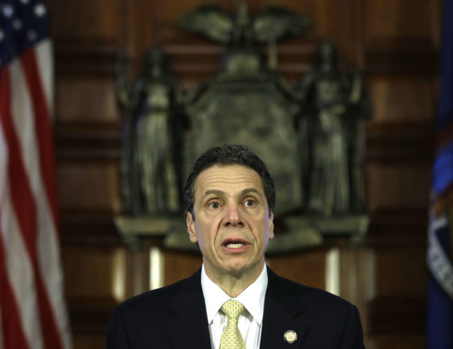 Gov. Andrew Cuomo (Photo courtesy of the governor's office)