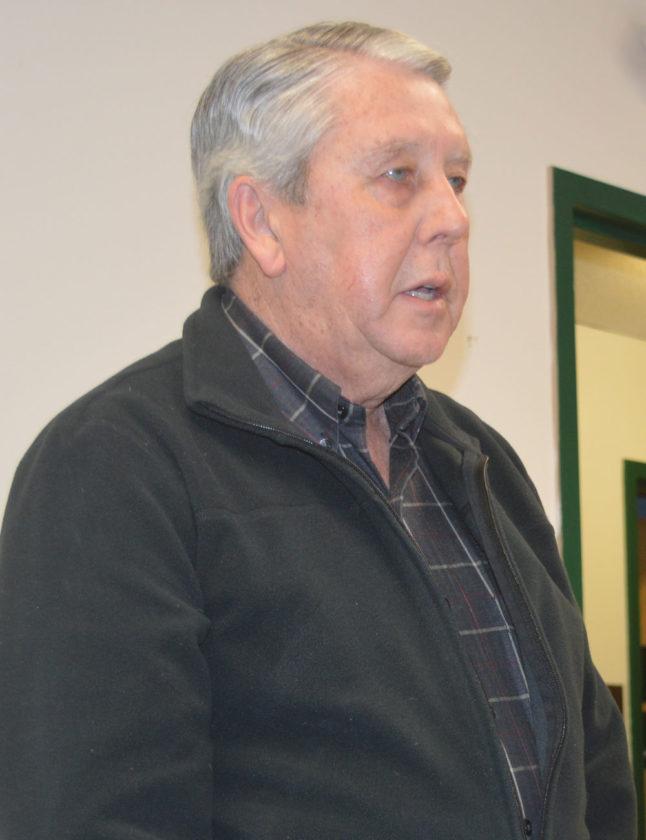 Justice William Hulshoff (Enterprise photo —  Antonio Olivero)