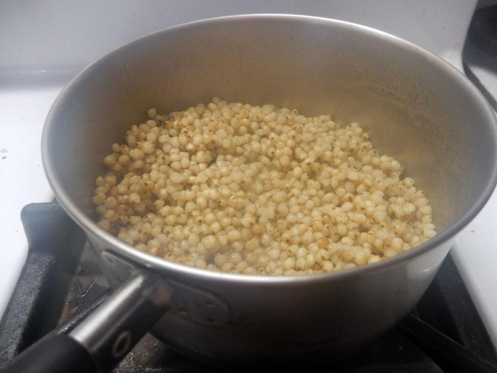 A pot of sorghum (Photo provided — Yvona Fast)