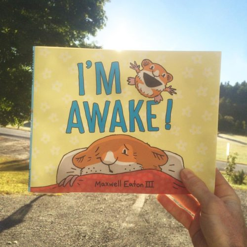 """I'm Awake,"" Maxwell Eaton III's latest children's book, will officially be released Saturday."