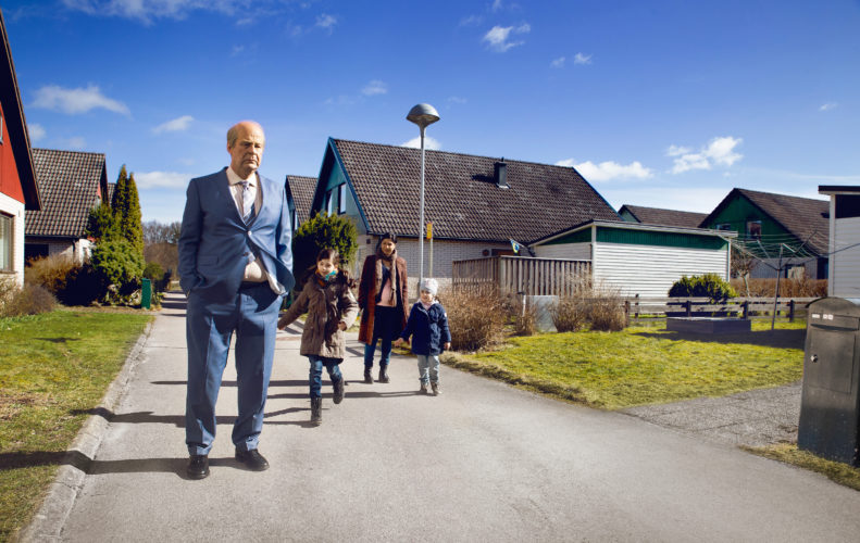 "Rolf Lassgard plays the curmudgeon Ove (pronounced ""OOO-va"") in the Swedish comedy-drama movie ""A Man Called Ove."" (Image provided)"