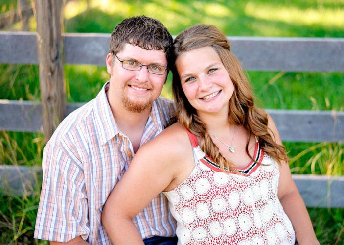 Dustin Lucius and Jacqueline Nordyke