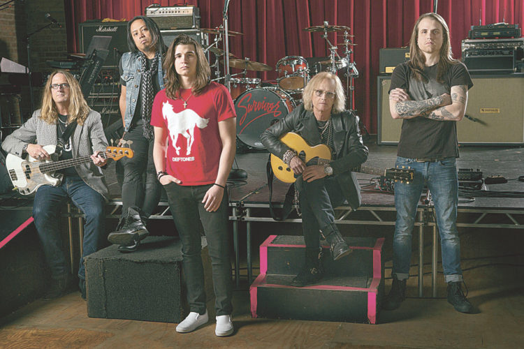 """The legendary rock band Survivor — with new member, 21-year-old Nashville resident Cameron Barton, on lead vocals — is to take its trademark arena rock sound to The Ritz Theater, 30 S. Washington St.,  at 7:30 p.m. Friday. Hits include """"High on You,"""" """"The Search is Over,"""" """"I Can't Hold Back"""" and """"Eye of the Tiger,"""" still one of the best-selling singles of all time. Tickets cost $40-$70. To purchase tickets, contact The Ritz Theater box office at (419) 448-8544 or visit www.ritztheatre.org."""