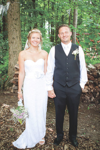 Brittany and Eric Kahle