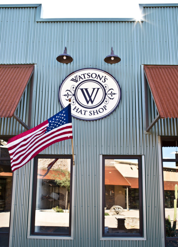 PHOTO SUBMITTED Watson's Hat Shop is located at 7100 E. Cave Creek Road, Ste 148, Cave Creek, Arizona.