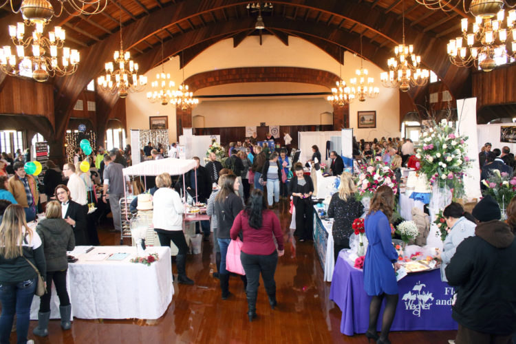 PHOTO SUBMITTED Brides- and grooms-to-be check out offerings from vendors during Tiffin Altrusa's 10th annual More Than Just a Bridal Fair at Meadowbrook Ballroom Sunday afternoon.
