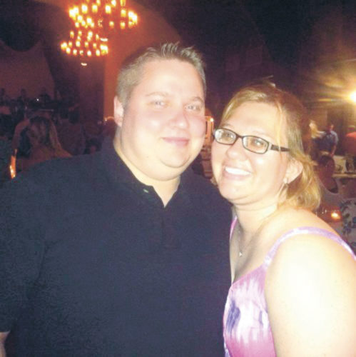 Darrin Mack and  Melissa Perry