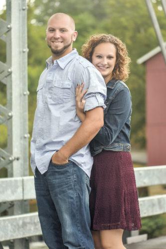 Dustin Bischoff and  Nicole Strausbaugh