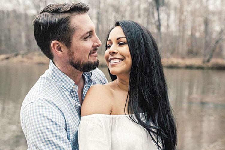 Andrew Zirger and Caroline Teixeira