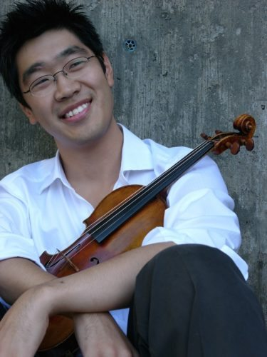 Courtesy photo Violinist Soovin Kim, who is also a teacher at the New England Conservatory of Music in Boston, will be the guest artist at the Altoona Symphony Orchestra at 7:30 p.m. Oct. 29 at the Mishler Theatre.