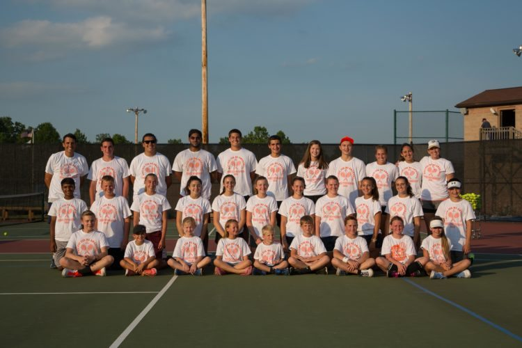 Courtesy photos More than 80 players from several counties across the state participated in the third annual Matches for MS Awareness Charity Tennis Tournament in Hollidaysburg.
