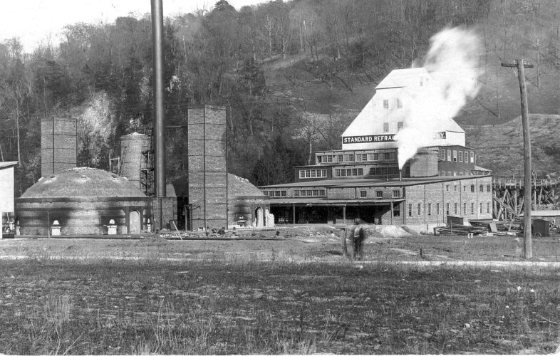"Rich Allison of Claysburg submitted this photo of Standard Refractories in Claysburg when it was built in 1913 by Thomas N. Kurtz. The plant was completed in 1914. In 1922, Kurtz sold his operation to General Refractories. Both Sproul and Claysburg produced silica brick under the General Refractories name. In 1946, combined employment at both plants was 714 people. Sproul closed as a silica brick plant in 1960 but re-opened as a ""specialty"" refractory plant and continues as Harbison Walker Refractories. Sproul has been in business for 105 years. Claysburg continued production until June 1987 when it closed after 73 years. The Claysburg location is now the home of McCabe Trucking.  Readers are encouraged to send or deliver old local photographs of general interest for use in Yesteryear. Information about people and places should be included. Photos must be 30 years old or older and should be sent to Yesteryear, Altoona Mirror, P.O. Box 2008, Altoona, PA 16603, or delivered to the Editorial Department."