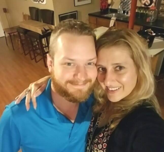 Tanya Anderson-Peters and Shane Tolman