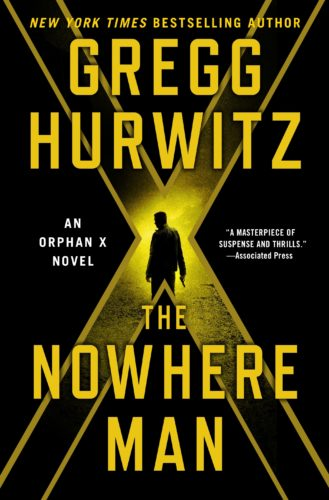 "This book cover image released by Minotaur shows, ""The Nowhere Man,"" by Gregg Hurwitz. (Minotaur via AP)"