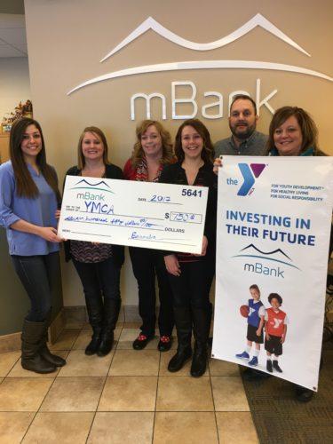 mBank YMCA donation