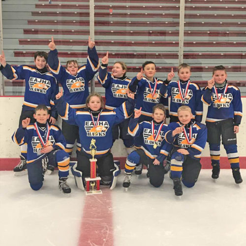 Courtesy photo Members of the Bink's Coca-Cola Squirt team are bottom row from left, Ben Sands, Cully Hayes, Carson Hughes, and Tanner Murray. Top row from left are, Drake Degnan, Ethyn Anderson, Libby Spreitzer, Alex Schwalbach, Nolan Bink and Owen LaBonte.