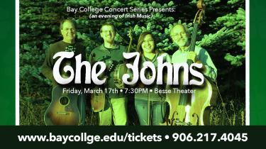 Courtesh photo The Johns are comprised of Ruby John (fiddle), Jon Cotton (string bass), John Warstler (guitar/clawhammer banjo) and Budd Greenman (fiddle, mandolin, tenor banjo, guitar and cajon).