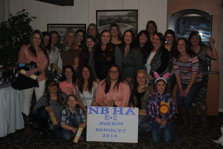 Courtesy photos The National Barrel Horse Association (NBHA MI-01) held their 2016 year end banquet March 18, at the Terrace Bay Inn in Gladstone. The club hold barrel racing events all over the Upper Peninsula. Awards were presented by club director Stephanie Bahrman. For information about membership and shows, contact Stephanie at (906)362-2699 or visit the website at www.michigannbha.com.
