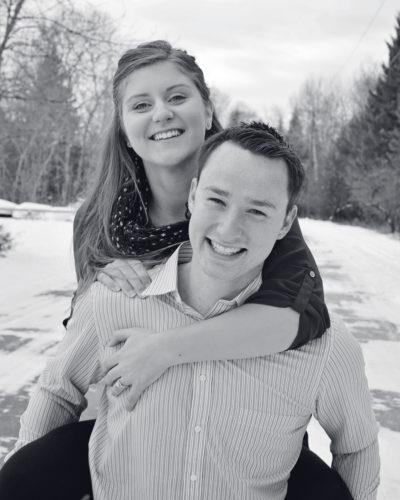 Brooke Mortl and Tyler Myrick