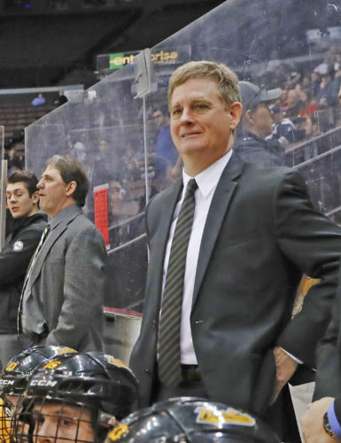 AP photo Mel Pearson is leaving Michigan Tech for the head coaching job at the University of Michigan.