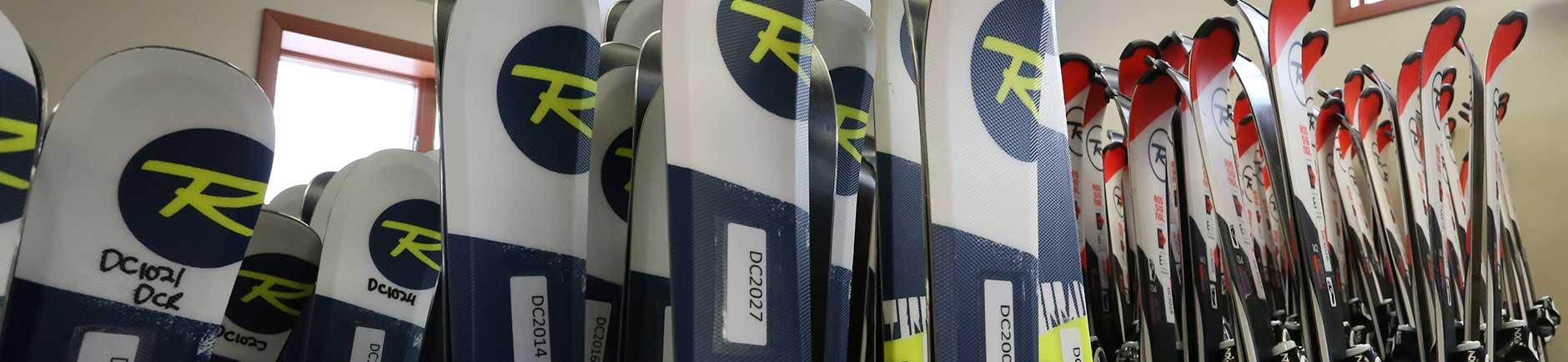 Rossignol ski rentals at Deep Creek Ski & Board