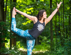 Celeste Sexton of Fusion Yoga, photography by Neal Bruns