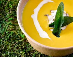 Empyrean Cafe's butternut soup