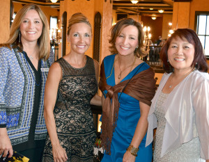 Early Childhood Alliance's Steppin' Out to Spark a Future for Children was May 5 at the Embassy Theatre's new ballroom and rooftop. Gretchen Shellabarger, Jill Kinder, Catherine Hill, Madeleine Baker