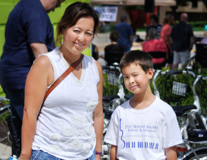 Arts United's Taste of the Arts Busker Square was Aug. 27 in downtown Fort Wayne. Andrea Jones, Daniel Jones