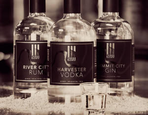 Three Rivers Distilling Company, photography by Neal Bruns