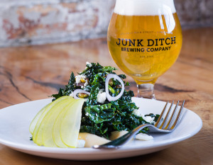 Junk Ditch Brewing Company's Kale & Apple, photography by Neal Bruns