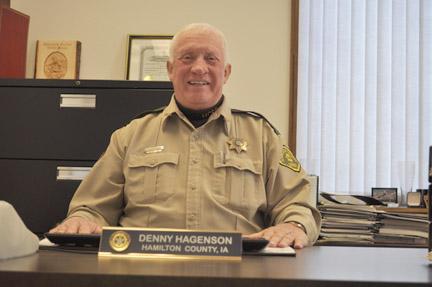 Sheriff Denny Hagenson