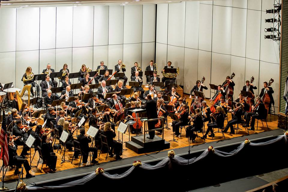 "The Wheeling Symphony Orchestra, conducted by Andre Raphel, will perform a free concert at 7:30 p.m. Sunday at Oglebay Park's Anne Kuchinka Amphitheater. The free concert will include selections such as ""Overture to Candide,"" ""Blue Tango,"" ""Chicago, Thunder"" and ""Lightning Polka,"" ""Star Spangled Spectacular"" and ""I've Got You Under My Skin.""  — Contributed"