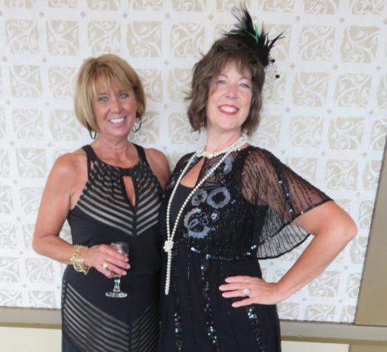 Event co-chairs Debbie Elias, left, and  Marie-Helene Wilson, both members of the board of directors -- Janice Kiaski