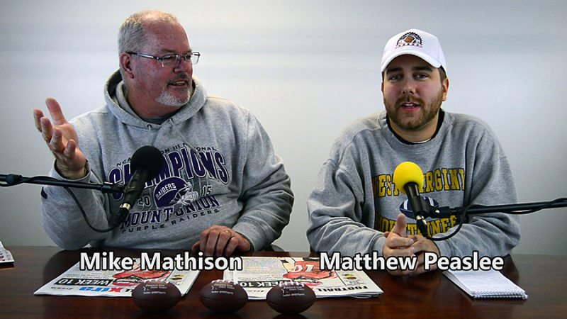 Mike Mathison and Matthew Peaslee, of the Star Sports Cast. -- Michael D. McElwain