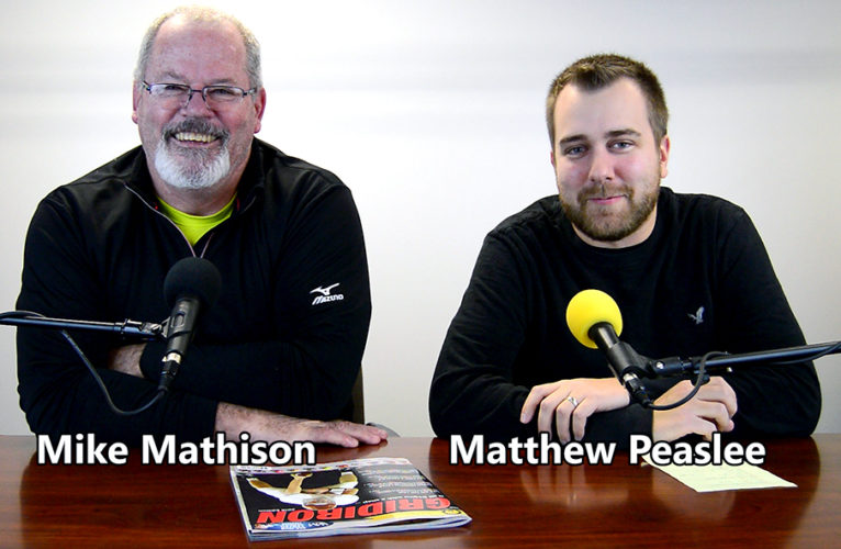 Mike Mathison and Matthew Peaslee of the Star Sports Cast. -- Michael D. McElwain