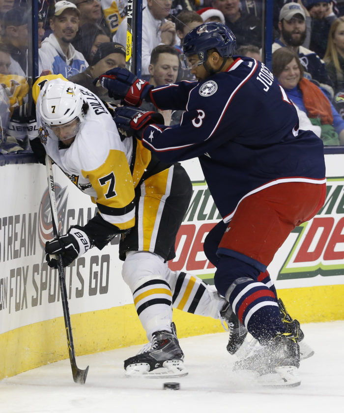 Jackets rout Penguins 7-1 to take Metro lead | News Sports Jobs