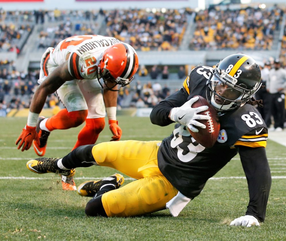 Cobi Hamiltion, defining moments steelers 2016, steelers vs browns, steelers new years overtime win browns