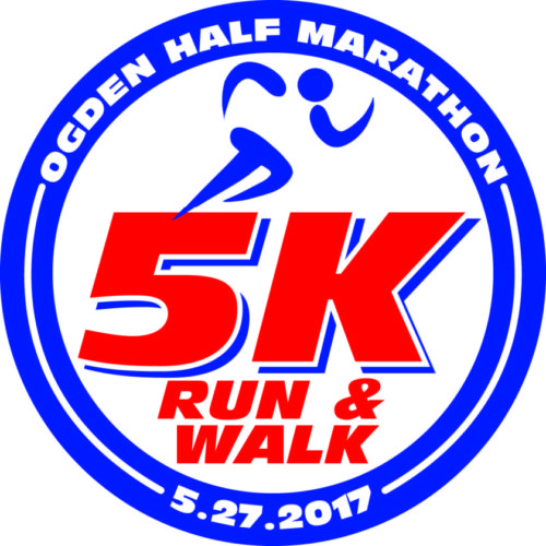 Shown here is the graphic that will be emblazoned on medals for 5K Run/Walk finishers in this year's Ogden Newspapers Half Marathon Classic. — Contributed