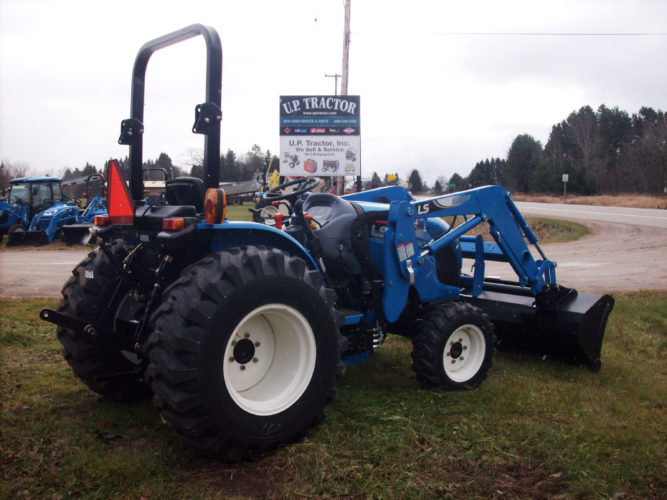 In support of local wildlife and habitat efforts, Wildlife Unlimited in Delta, Dickinson and Iron counties are working together on a fundraiser. Top prize is the four-wheel drive, 12-speed diesel tractor with bucket loader pictured here.