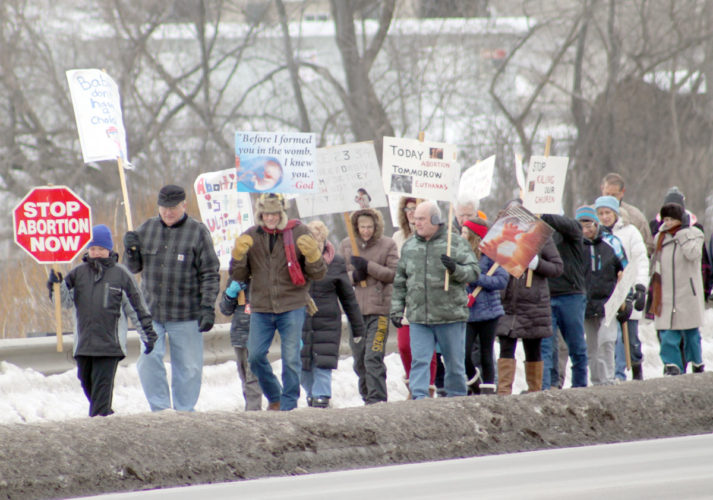 The Walk For Life, an annual event in support of the rights of the unborn, will take place at 1:30 p.m. Sunday. The event is sponsored by the Dickinson County Right to Life. Participants begin gathering at 1:15 p.m. in the parking lot near the Braumart and Kingsley North on West A Street. Walkers will proceed down South Stephenson Avenue and conclude at Hardee's. The entire walk will last less than 30 minutes, leaving plenty of time for watching the Green Bay Packers game. Cocoa and coffee will be available for walkers.
