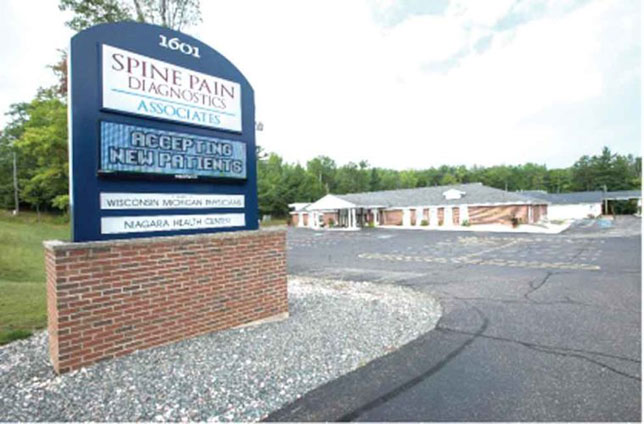 SPINE PAIN Diagnostics Associates and the Niagara Health Center are located in Niagara, Wis. and have hit the 20-year mark of serving patients.